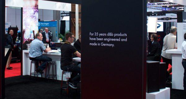 d&b audiotechnik solutions at InfoComm 2017