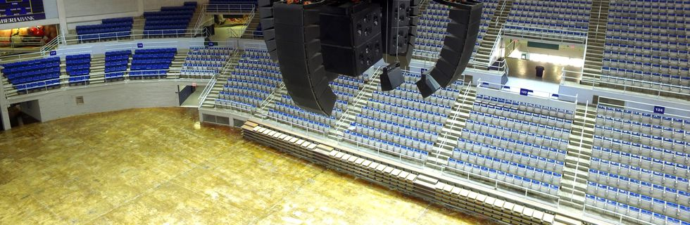 Stage Audio Works Burton Coliseum Perfects Its