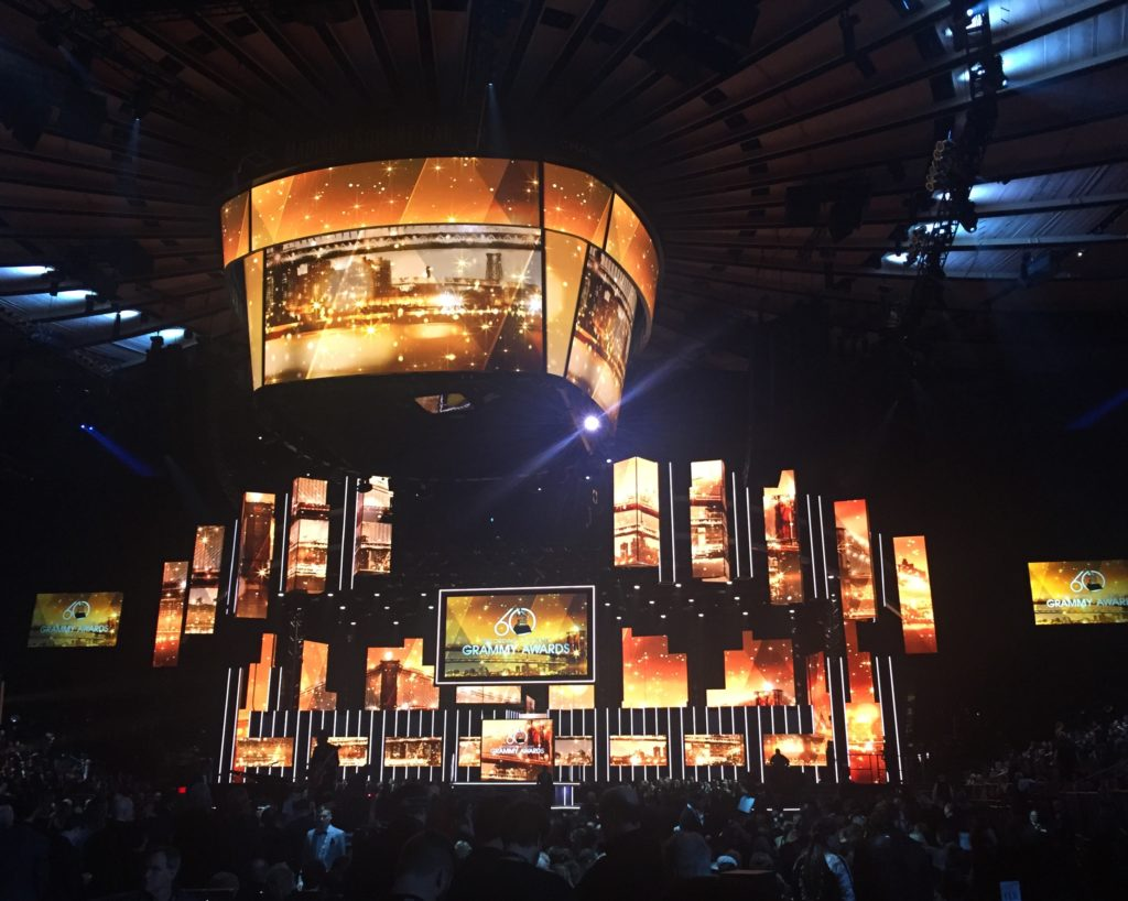 Telecast live from New York City's Madison Square Garden, the 2018 Grammy Awards saw many artists using Sennheiser digital and analog wireless microphones.