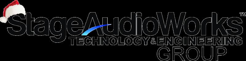 Stage Audio Works Christmas Logo